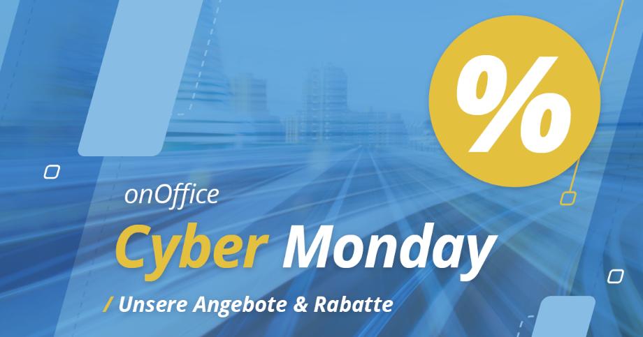 Grafik Cyber Monday Angebote bei onOffice