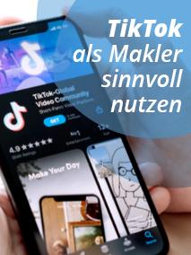 Grafik Makler bei TikTok
